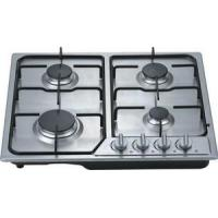 Wholesale Built In 60CM 4 Burner Gas Hob Cooktop With Stainless Steel Panel from china suppliers
