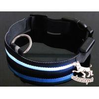 Wholesale Newest  LED dog collar, LED lighting for dog collar, safe and fashionable from china suppliers