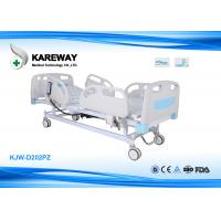 Buy cheap Two Functions Electric Care Hospital Bed With Centrally Controlled Brake System from wholesalers