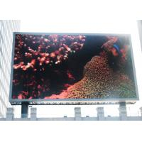 Wholesale Full Color Advertising RGB LED Display Board For Public Square , Meanwell Power Supply from china suppliers