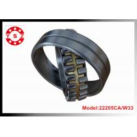Wholesale 22205CA/W33 Chrome Steel Spherical Roller Bearing Double Rows With One Piece Brass Cage from china suppliers