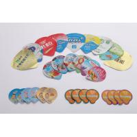 Buy cheap Heat Sealed Lacquer Die Cut Lids For Dairy Products 8 Colors Printing from wholesalers