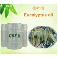 Eucalyptus leaf oil 100% pure natural essential manufacturer 70% 80% CP,BP,USP