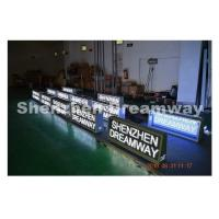 Wholesale PH5 Outdoor taxi top advertising more than 6000 CD / m2 , Aluminum Cabinet from china suppliers