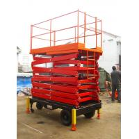 Wholesale Fully Proportional Control Heavy Duty Scissor Lift Aerial Installation / Construction from china suppliers