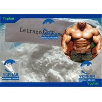 Wholesale 112809-51-5 Letrozole Bodybuilding Anabolic Steroids Cutting Cycle , Gain Muscle Steroids from china suppliers