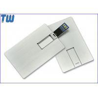 Wholesale Whole Metal Business Card 32GB USB3.0 Pen Drive Twister UDP Design from china suppliers