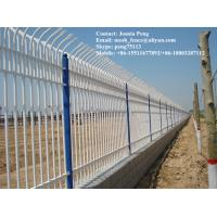 Wholesale Square post security crimped iron steel fencing from china suppliers