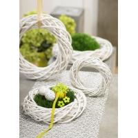 Wholesale handmade wicker hang christmas from china suppliers