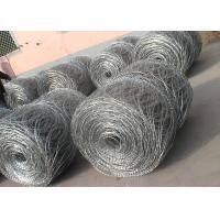 Wholesale Hot - Dipped Galvanized High Tensile Barbed Wire 10BWG x 12BWG Per Roll from china suppliers
