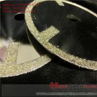 Wholesale Electroplated Diamond Cutting Blades & Discs Alisa@moresuperhard.com from china suppliers