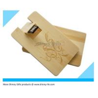Wholesale Promo Gifts wood credit card usb Wooden Card from china suppliers