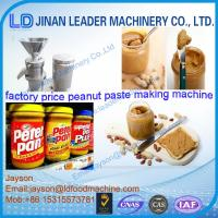 Wholesale cooling system peanut butter making machine supplier from china suppliers