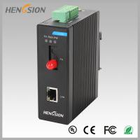 Wholesale 1 Electric Port And 1 Fx Industrial Managed Ethernet Switch , Din Rail Network Switch from china suppliers