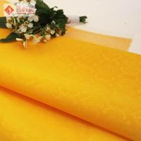 Wholesale Nonwoven Yellow Velvet Arts and Crafts Upholstery Fabric Soft Antifouling from china suppliers