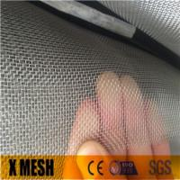 Wholesale Mill finish or black, grey coated 10x10 stainless steel woven fly screens used for insect screening and fly proofing from china suppliers