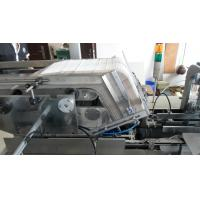 Quality tissue boxer, facial tissue packing machine with glue system,servo motor for sale