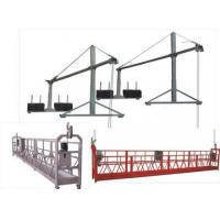 Wholesale Hot galvanization Electric Suspended Access Equipment 2kw with 6m , 7.5m from china suppliers