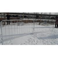 Wholesale 1090mm X 2500mm Europe Standard 17 PCS Uprights Hot Dipped Galvanized Crowd Control Barriers from china suppliers
