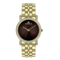 Wholesale Custom Logo Gold Ladies Watches , Ladies Wrist Watches 36.0mm from china suppliers