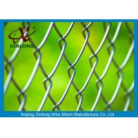 Wholesale Hot Dipped Galvanized Chain Link Fencing , Chain Link Wire Fence For Park from china suppliers