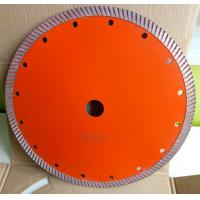 Buy cheap 230mm diamond Continues Turbo saw blade hot press for cutting concrete from wholesalers