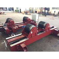 Buy cheap 10T  Lead Screw Conventional Welding Rotator , 10 Ton Lead Screw Pipe Stands Welding Rollers from wholesalers