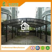 Quality 1100 X 600 X 230CM Black Color Easy DIY Polycarbonate & Aluminum Carport for sale