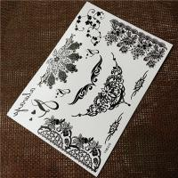 Wholesale Arm / Hand Bracelets Black Tattoo Stickers , Real Looking Fake Tattoos Stickers from china suppliers