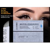 Wholesale Semi Permanent Makeup Microblading Nano Blade Eyebrow Tattoo Needles 0.18mm from china suppliers