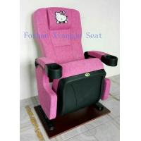 Wholesale Hello Kity Headrest Cinema Theatre Chair Iso Certification Pp Armrest  Flame Retardant Fabric from china suppliers