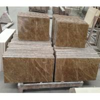 Wholesale Light emperador Polished Marble Floor Tile for indoor outdoor project from china suppliers
