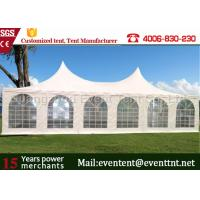 Wholesale Adjustable Heavy Duty Tents White , High Peak Pole Tent For Large event party, hotel from china suppliers