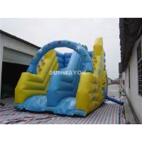 Wholesale Blow Up Kids / Adult Commercial Inflatable Slide In Ground Pools from china suppliers