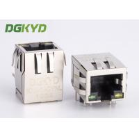 Wholesale 100 BASE Telecommunication RJ45 Modular Connector with internal Transformer OEM from china suppliers