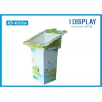 Wholesale Fruit Retail Cardboard Advertising Display Stands / Cardboard Display Shelves from china suppliers