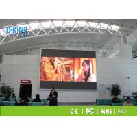 Wholesale P2.5 Hospital / Bank Large Outdoor LED Video Wall 160000 dots/M2 Pixel Density from china suppliers