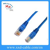 Wholesale Bare copper CAT5E Patch Cable / ethernet cat 5e utp cable AWG24 from china suppliers