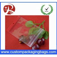 Buy cheap Durable Shock Resistant Zipper Stand Up Pvc Hook Bag Waterproof Eco Friednly from wholesalers