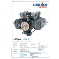 "China Limbach""L 550E"" - 37 kW  Four-cylinder, two-stroke boxer engine, air cooling, single magneto ignition, on sale"