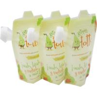 Wholesale Colorful Print Reusable Spout Pouch , Liquid Bags With Spout Moisture Proof from china suppliers