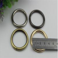 Buy cheap Small light gold bag accessories metal iron o ring buckles 32 mm from wholesalers