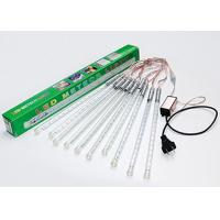 Wholesale Holiday 30cm LED Meteor Lights , White / Multicolor Shower Rain Tube Lights from china suppliers