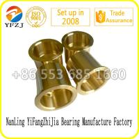 Wholesale high quality manufacture bearing factoy bush,Crusher bronze bushing,Oil Groove Bronze Bushing from china suppliers