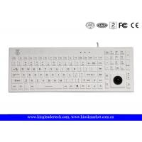 Wholesale Norway Layout Silicone Waterproof Keyboard with Trackball and Customizable Layout from china suppliers
