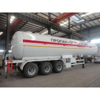 Wholesale 2017s new best price 49.6cbm LPG gas semitrailer for sale, factory sale cheapest price 20tons road transported lpg tank from china suppliers