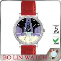 Wholesale Stone - Finishing Dial Genuine Leather Watches For Girls Sapphire Glass Swiss Movement from china suppliers