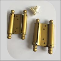 China Steel Iron Metal Material Spring Loaded Hinges Double Action Small Size on sale