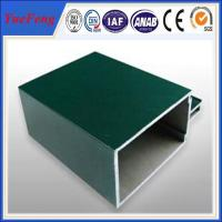 Wholesale big dimension profile extruded aluminium for unitized curtain walls from china suppliers