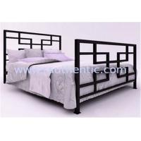 Wholesale Antique Style Metal Frame Bed Double Size For Luxurious Country Or Urban Decor from china suppliers